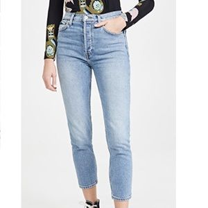 Re/Done Jeans 90s High Rise Ankle Crop Levi's 29